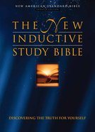 NASB New Inductive Study Indexed Bonded Leather