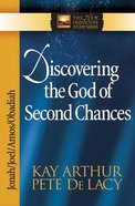 Discovering the God of Second Chances (Jonah/Joel/Obadiah/Amos) (New Inductive Study Series) Paperback