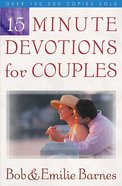 15 Minute Devotions For Couples Paperback