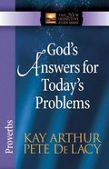 God's Answers For Today's Problems (New Inductive Study Series) Paperback