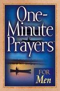 One-Minute Prayers For Men Paperback