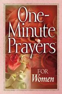 One-Minute Prayers For Women Paperback