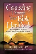 Counseling Through Your Bible Paperback