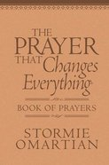 The Prayer That Changes Everything (Book Of Prayers Series) Imitation Leather