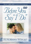 "Before You Say ""I Do"" (Dvd) DVD"