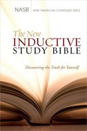 NASB New Inductive Study Bible Hardback