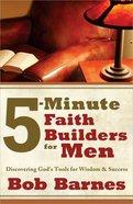 5-Min Faith Builders For Men Paperback