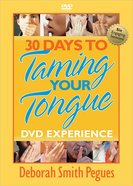 30 Days to Taming Your Tongue (Dvd Experience) DVD
