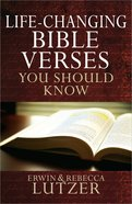 Life-Changing Bible Verses You Should Know Paperback