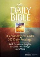NIV Daily Bible in Chronological Order