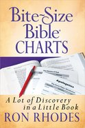 Bite-Sized Bible Charts Mass Market