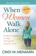 When Women Walk Alone Paperback
