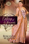Ring of Secrets (#01 in Culper Ring Series) Paperback