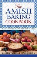 The Amish Baking Cookbook Spiral