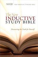 NASB New Inductive Study Bible (Burgundy) Genuine Leather