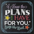 """I Know the Plans I Have For You,"" Says the Lord Hardback"
