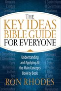 The Key Ideas Bible Handbook Paperback