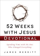 52 Weeks With Jesus Devotional Hardback