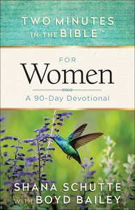 For Women (Two Minutes In The Bible Series)