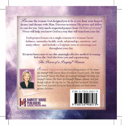 Prayer Cards: The Power of a Praying Woman