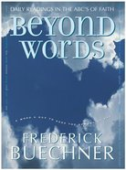 Beyond Words Hardback
