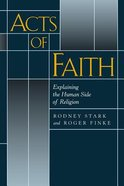 Acts of Faith Paperback