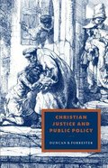 Christian Justice and Public Policy Paperback