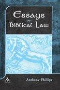 Essays on Biblical Law