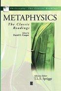 Metaphysics Paperback
