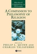 A Companion to Philosophy of Religion Paperback