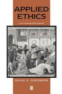 Applied Ethics Paperback