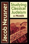 Studying Classical Judaism Paperback