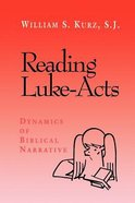 Reading Luke-Acts Paperback
