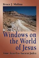 Windows on the World of Jesus Paperback