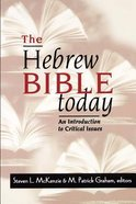 The Hebrew Bible Today Paperback