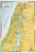 Israels Settlement in Canaan (Abingdon Bible Land Maps Series)