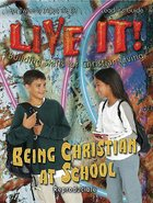 Being Christian At School Leader's Guide (Reproducible) (Live It! Series) Paperback