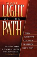 More Light on the Path - Hebrew and Greek Paperback