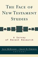 The Face of New Testament Studies Paperback