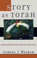 Story as Torah Paperback