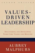 Values-Driven Leadership (2nd Edition) Paperback