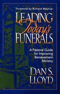 Leading Today's Funerals Paperback