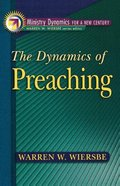 Dynamics of Preaching Paperback