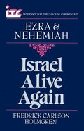 Itc Ezra & Nehemiah (International Theological Commentary Series) Paperback