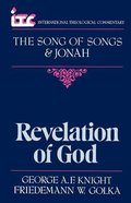 Itc Song of Songs and Jonah (International Theological Commentary Series)