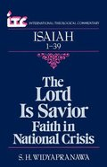 Itc Isaiah 1-39 (International Theological Commentary Series) Paperback