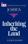 Itc Joshua (International Theological Commentary Series) Paperback