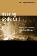 Hearing God's Call Paperback