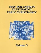 Linguistic Essays With Cumulative Indexes to Volumes 1-5 (#05 in New Documents Illustrating Early Christianity Series) Paperback