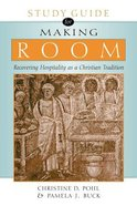 Making Room (Study Guide) Paperback